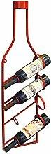 GDSKL Casier à vin peut contenir 4 bouteilles de
