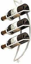 GDSKL Porte-bouteilles de vin mural créatif pour