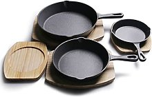 GDYJP Pot de Cuisine Feuille de poêle en Fonte