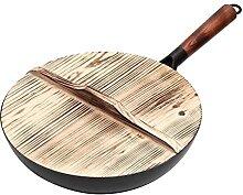 GDYJP Pot de Cuisine Pot de Fer à Main 3 2cm