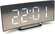 GDYJP Réveil Horloge numérique DIMMABLE DIMMABLE