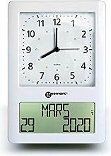 Geemarc VIso 50 Horloge Radio-pilotée avec Double