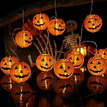 Geemoo Halloween Guirlande Lumineuse, 4M 20 LED