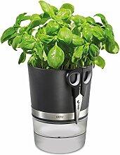 Gefu 00116 Botanico Pot à herbes + Ciseaux à