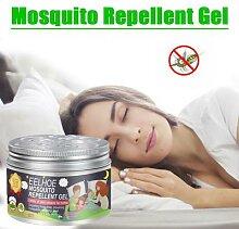 Gel Anti-moustique plante citronnelle Non toxique,
