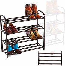 GEMITTO Meuble Chaussures, 4 Couches Robuste