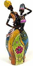 GEMME Statuette Couple africain30x13x7cm