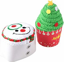 Générique 2 Pcs De Noël Coton Serviettes De