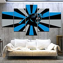 Générique 5 Pieces Tableau Mural Grande Affiche