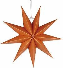 Générique Abat- Jour en Papier Étoile Orange