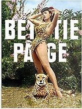 Générique Bettie Page Jungle - Affiches