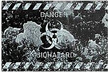 Générique Biohazard Black -Imprimer Une Affiche