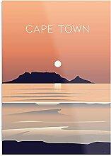 Générique Cape Town South Africa Travel Poster