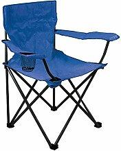 Générique Fauteuil de Camping Pliant Bleu
