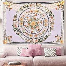 Générique Guirlande colorée Tapisserie Florale