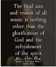 Générique J S Bach Quote on Music Design & Art