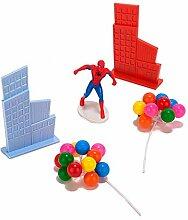 Générique - Kit de Decoration Spiderman pour