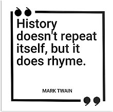 Générique Mark Twain History Doesn't Repeat