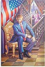 Générique President Trump Portrait Design & Art