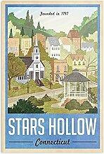 Générique Stars Hollow Connecticut Design & Art