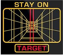 Générique Stay on Target Design & Art Print