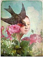 Générique The Silent Garden Design & Art Print