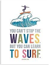 Générique You Can't Stop The Waves But You