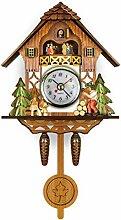 Gerenic Horloge à Coucou Traditionnelle de Style