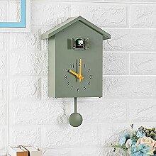 Gerenic Horloge à Coucou,Voix d'oiseau