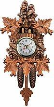 Gerenic Horloge Coucou Traditionnelle de Style