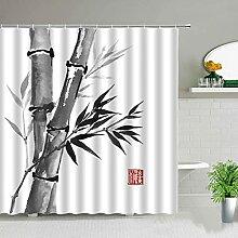 GermYan Peinture Bambou Rideaux De Douche