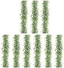 Gernian 9X Guirlandes D'Eucalyptus