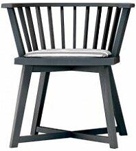GERVASONI fauteuil GRAY 24 (Gris - chêne)