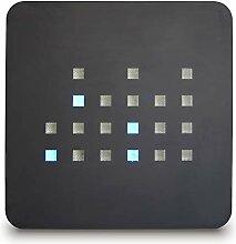 getDigital Horloge Murale Binaire Bleu