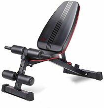 GFF Banc de Musculation Chaise de Fitness couché