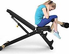 GFF Banc de Musculation Pliant haltères