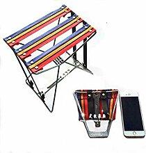 GFF Chaise de pêche Chaise Pliante Tissu léger