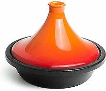 Gflyme Marmite à tajine sans Plomb, casseroles en