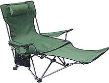 GGCG Chaise de Camping inclinable avec