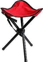 GGCG Chaise de Camping Pliable, Tabouret Pliante
