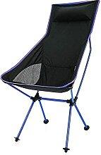 GGCG Chaise de Camping Portable Alliage