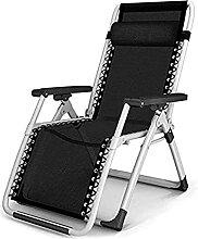 GGCG Chaise de Camping Portable Chaise Pliante