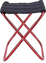 GGCG Chaise de Camping - Tabouret Pliant Portable