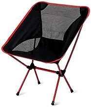 GGCG Chaise Pliante, Chaise de Camping Portable,