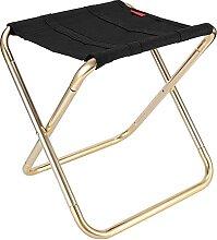 GGCG Chaise Pliante de Camping, Tabouret Pliant,