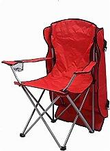GGCG La Chaise de Camping Ergonomique Bleue avec