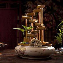 GGYDD Céramique Eau De Bambou Fontaine