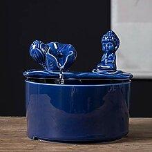 GGYDD Céramique Zen Moine Figurine