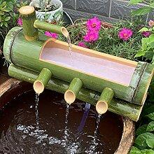 GGYDD Fonction d'eau De Bambou