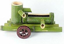 GGYDD Fontaine d'eau De Bambou avec La
